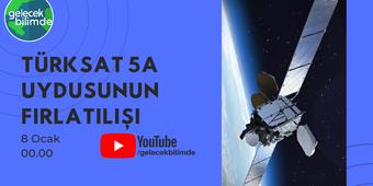 Türksat 5A Uydu Fırlatılış Yayını