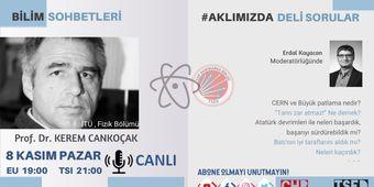 Kerem Cankoçak ile Bilim Sohbeti / AKLIMIZDADELİSORULAR / CHP Danimarka Birliği