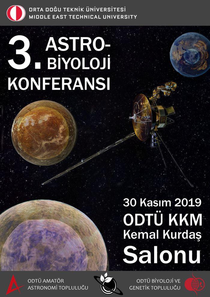 3. Astrobiyoloji Konferansı