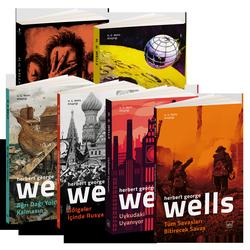 H. G. Wells Bilimkurgu Seti-2: Gölgeler İçinde Rusya, Tüm Savaşları Bitirecek Savaş, Ay'daki İlk İnsanlar, Ağrı Dağı Yolcusu Kalmasın