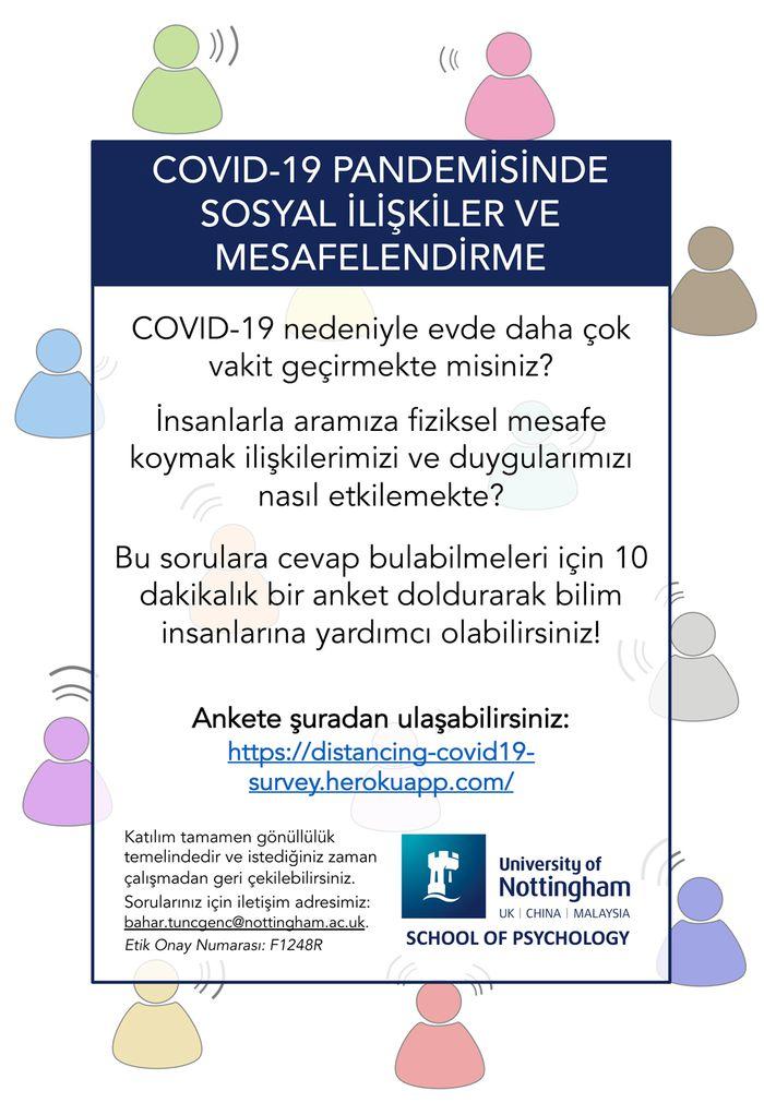 COVID-19 Pandemisinde Sosyal İlişkiler ve Mesafelendirme