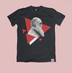 Charles Darwin Bilim Tişörtü