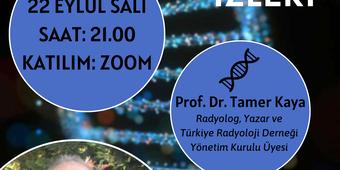 """Prof. Dr. Tamer Kaya ile """"Vücudumuzdaki Evrimin İzleri"""" Konulu Sunum & SoruCevap"""