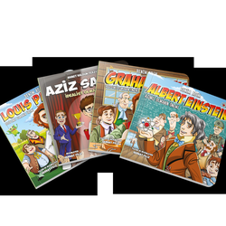 Erdemler Serisi: Çocuklar İçin 4 Bilim Kitabı