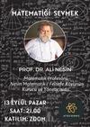 """Prof. Dr. Ali Nesin ile """"Matematiği Sevmek"""" Konulu Söyleşi - Atocosmic"""