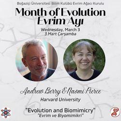 Evrim ve Biyomimikri - Andrew Berry ve Naomi Pierce (Harvard University)