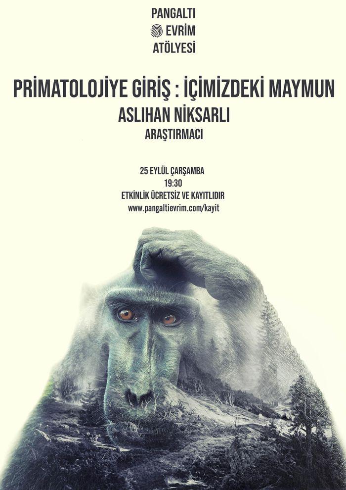 Primatolojiye Giriş : İçimizdeki Maymun