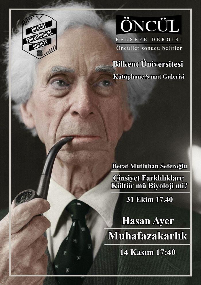 Öncül Analitik Felsefe Dergisi Bilkent Üniversitesi'ne geliyor.