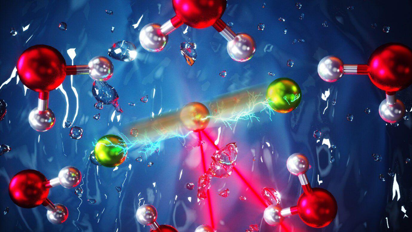 Hidrojen-Aracılı Garip Kimyasal Bağ, Hidrojen Bağı ve Kovalent Bağın Karışımı Gibi Davranıyor!