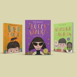 Böcek Çocuk Serisi (3 Kitap)