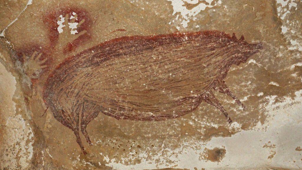 Endonezya'da Keşfedilen Domuz Resimleri, Dünya'nın En Eski Mağara Sanatı Olabilir!