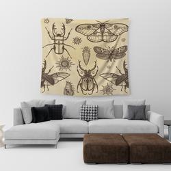 Böcekli Duvar Halısı