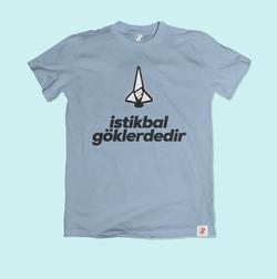 İstikbal Göklerdedir Bilim Tişörtü