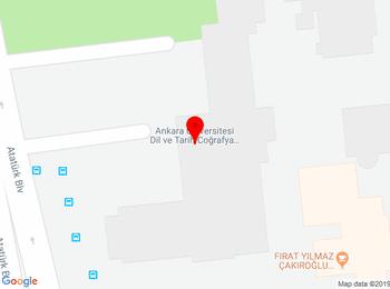 Ankara Üniversitesi, Dil ve Tarih-Coğrafya Fakültesi, Antropoloji Bölümü, 06100, Sıhhiye, Ankara