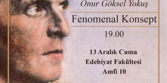 Öncül Analitik Felsefe Dergisi İstanbul Üniversitesi'ne geliyor.