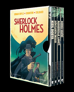 Sherlock Holmes Kutulu Set (4 Kitap)