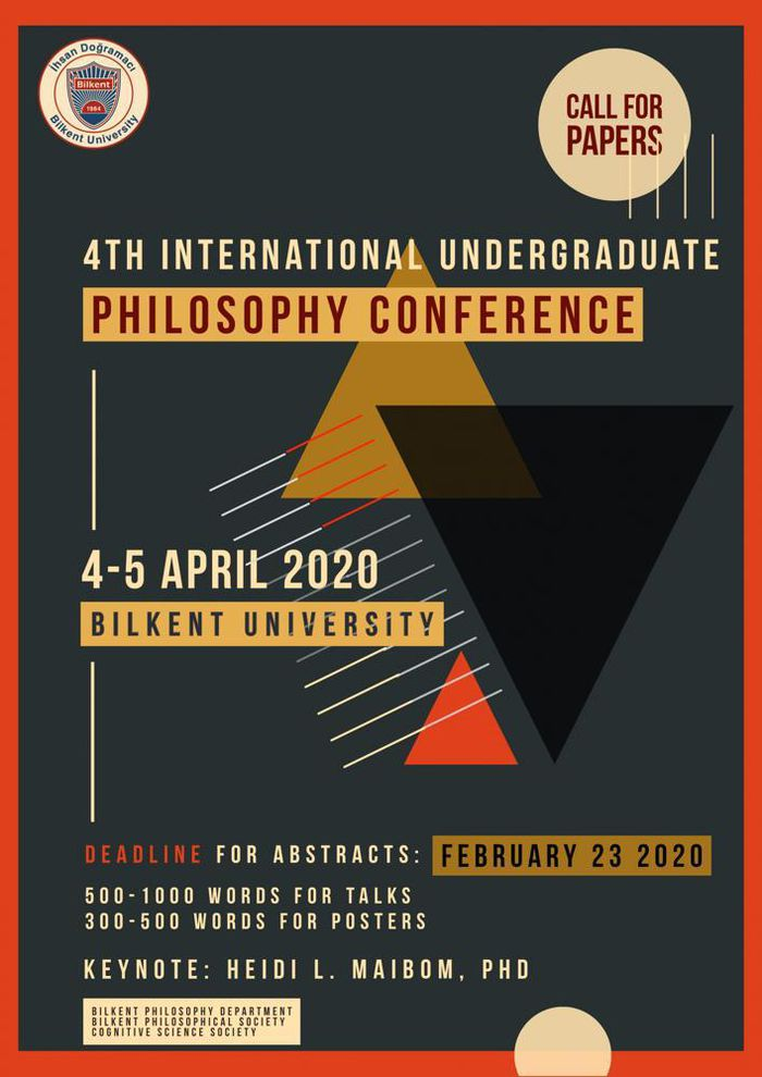 CFP: 4th International Undergraduate Philosophy Conference