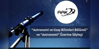 İstanbul Üniversitesi Amatör Astronomlar Kulübü ile Söyleşi - Atocosmic